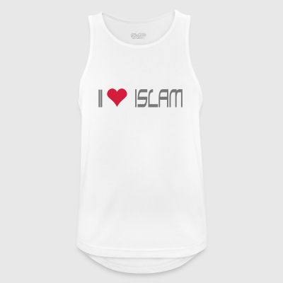 I LOVE ISLAM - Men's Breathable Tank Top