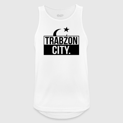 Trabzon by - Pustende singlet for menn