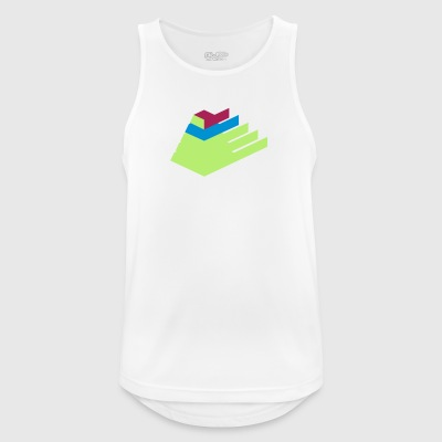 Pyramid - Men's Breathable Tank Top