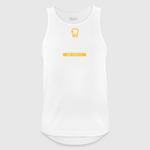 Life Is Short. Smile While You Have Teeth! - Men's Breathable Tank Top