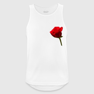 rosa - Camiseta sin mangas hombre transpirable