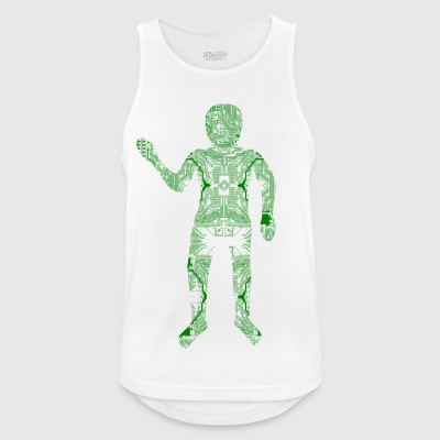 Digital Hardware Man - Männer Tank Top atmungsaktiv