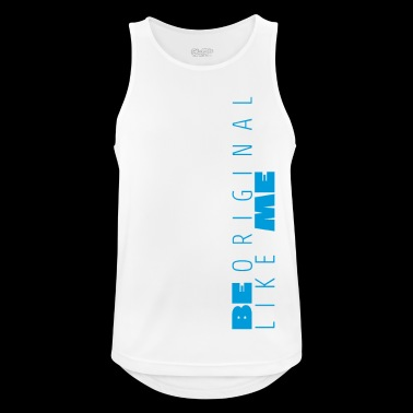Be Like Me Blue - Men's Breathable Tank Top