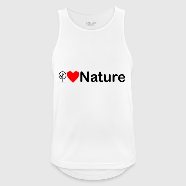 Nature | I love the nature - Men's Breathable Tank Top
