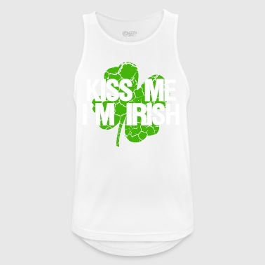 Kiss me I'm Irish - Kiss me, I'm Irish - Men's Breathable Tank Top