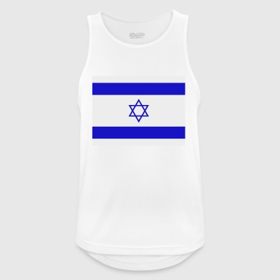 israel flag - Men's Breathable Tank Top