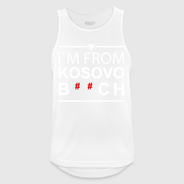 I`m from Kosovo B ** ch - Men's Breathable Tank Top