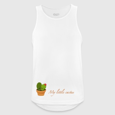 My little Cactus - Men's Breathable Tank Top