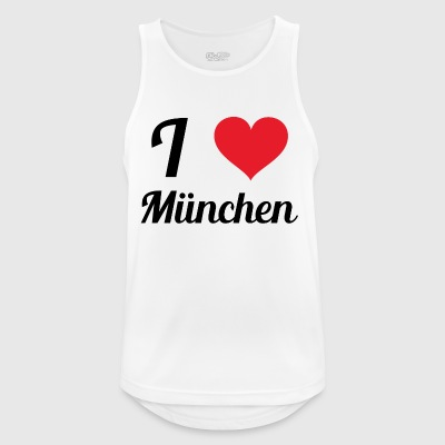 i love munich - Men's Breathable Tank Top