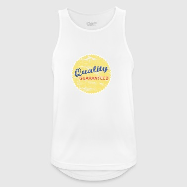 Quality seal: Quality Guaranteed - Men's Breathable Tank Top