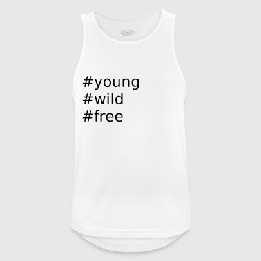 young - Men's Breathable Tank Top