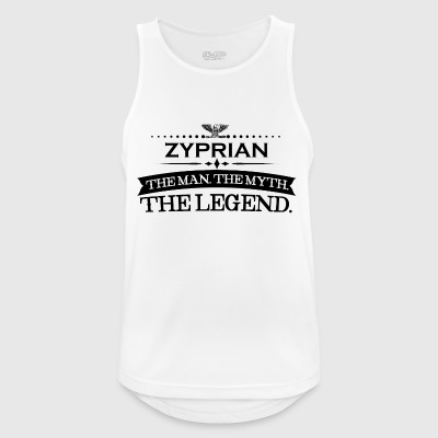 Man myth legend gift Cyprian - Men's Breathable Tank Top