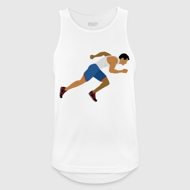 Athlete (sprinting) - Men's Breathable Tank Top