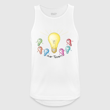 group bulb - Men's Breathable Tank Top