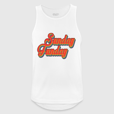 sunday funday - Men's Breathable Tank Top