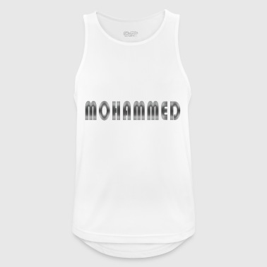 nombrar Mohammed - Camiseta sin mangas hombre transpirable