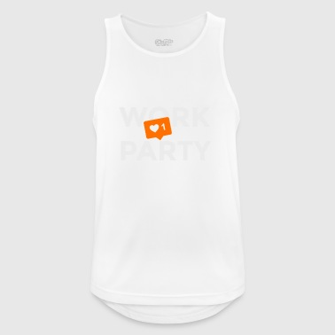 Work? No! Party: Yes - Men's Breathable Tank Top