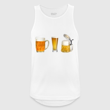 beer glasses - Men's Breathable Tank Top