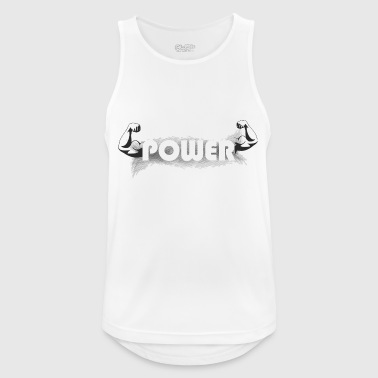 power - Men's Breathable Tank Top