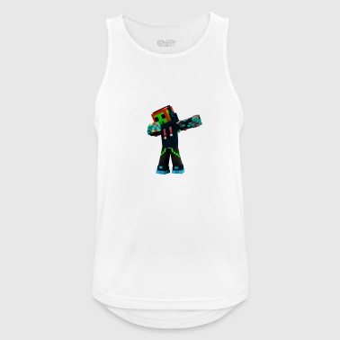 Improbable Trexx MC Character - Men's Breathable Tank Top