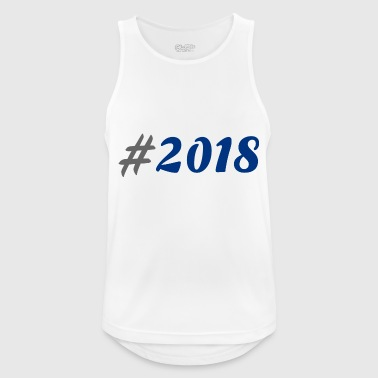 # 2018 - Camiseta sin mangas hombre transpirable