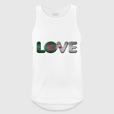 I LOVE ALGERIA Algeria - Men's Breathable Tank Top