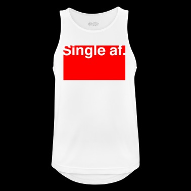 Single AF for anti Valentines - Men's Breathable Tank Top