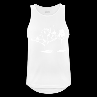 bondage white - Men's Breathable Tank Top