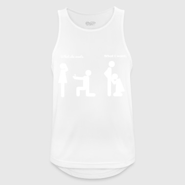 Wedding joke - Men's Breathable Tank Top
