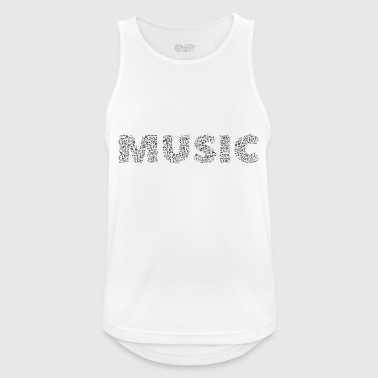 music - Men's Breathable Tank Top