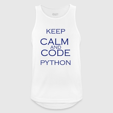 Code python - Men's Breathable Tank Top
