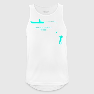 SATURDAY NIGHT FISHER - Men's Breathable Tank Top