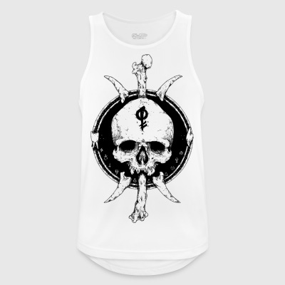 skull - Men's Breathable Tank Top