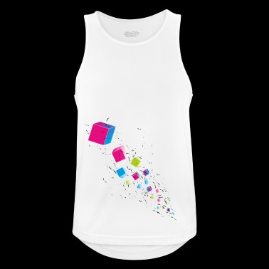 Cubechaos - Party und Open Air Festival Motiv - Männer Tank Top atmungsaktiv