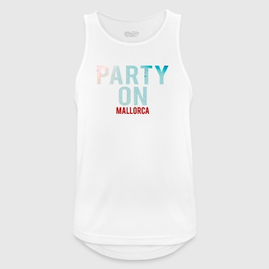 Party on Mallorca - Party-Beach - Party-Urlaub - Men's Breathable Tank Top