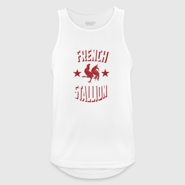 French Stallion - Men's Breathable Tank Top