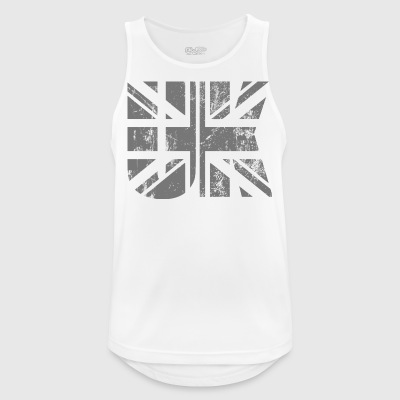 UK Flag - Men's Breathable Tank Top