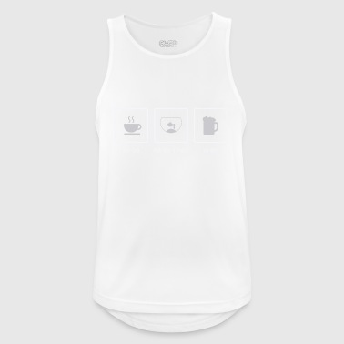 Breakfast, Aquarium, Feierabend - Men's Breathable Tank Top