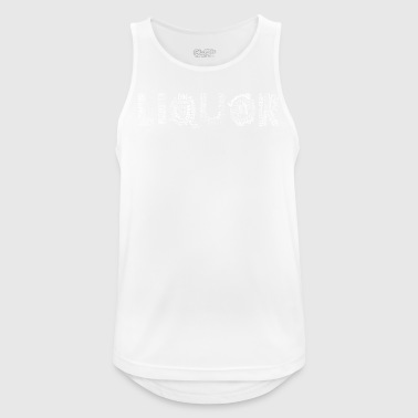 Liquor White - Men's Breathable Tank Top