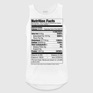 Human Nutrition Facts - Men's Breathable Tank Top
