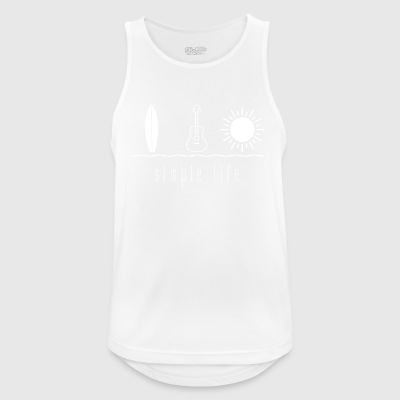 Simple Life Ukulele - Men's Breathable Tank Top