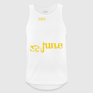 Kings June Birthday Gift June - Men's Breathable Tank Top