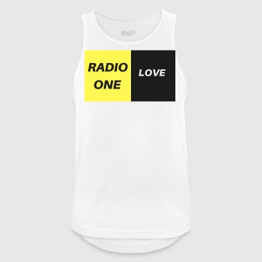 RADIO ONE LOVE - Männer Tank Top atmungsaktiv