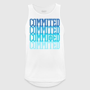 Commited to your goals - Männer Tank Top atmungsaktiv