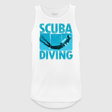 diver - Men's Breathable Tank Top