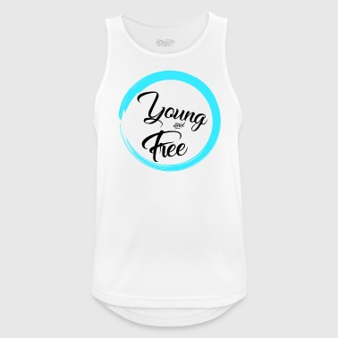 Young and Free - Men's Breathable Tank Top