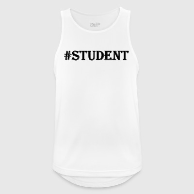 STUDENT black - Men's Breathable Tank Top