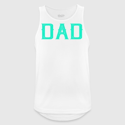 Dad Strong - fitness - Men's Breathable Tank Top