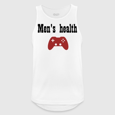 Men health - Männer Tank Top atmungsaktiv