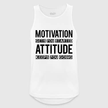 Motivation - Tank top męski oddychający